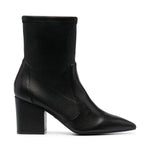 Vernell75 Pull On Leather Ankle Boots