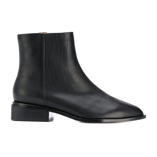 Xenon Flat Nappa Leather Ankle Boots