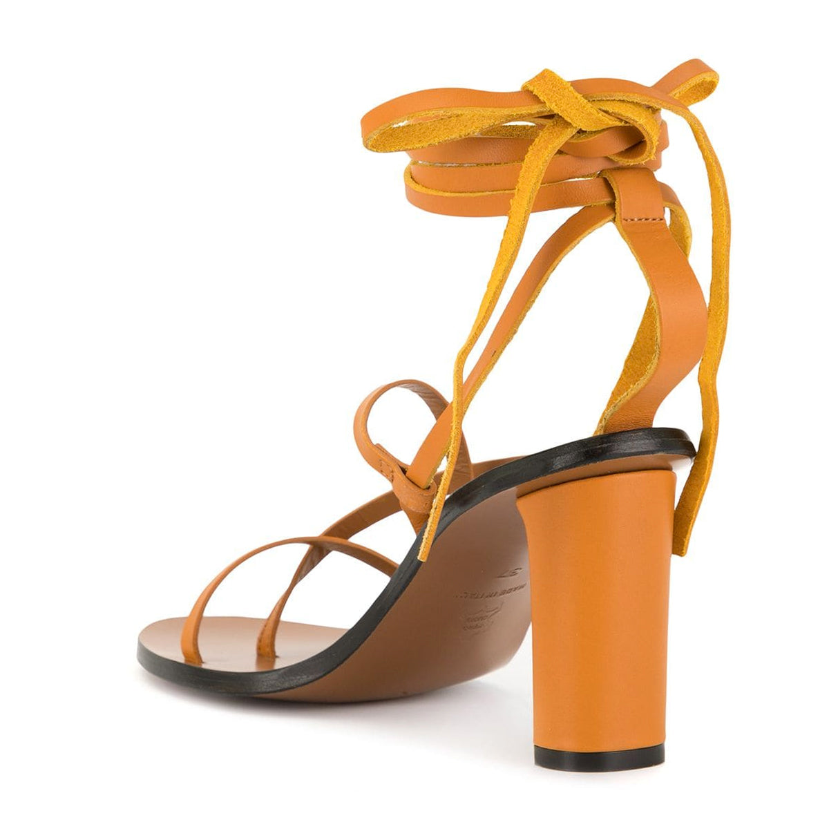 Adelfia Tie Up Strappy High Heel Sandals