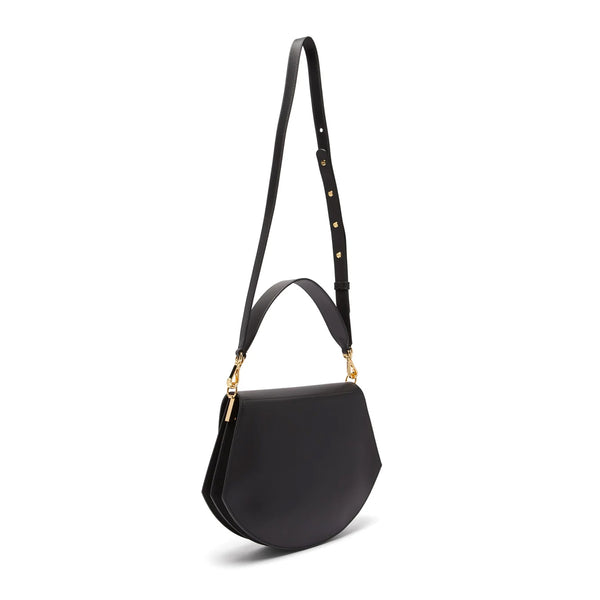 Al Smooth Leather Shoulder Bag