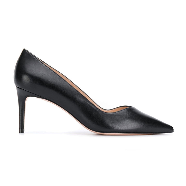 Anny 70 Mid Heel Point Toe Pumps
