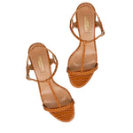 Almost Bare 50 Block Heel Sandals