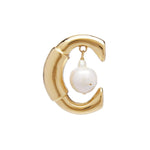 Darcey Baroque C Pearl Single Earring