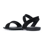 Suede Rubber Sole Flat Simple Sandals