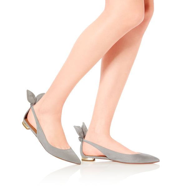 Bow Tie Ballet Flats