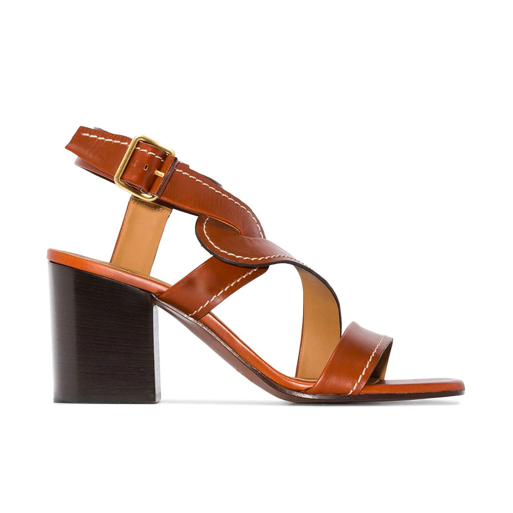 Candice Block Heel Strappy Sandals