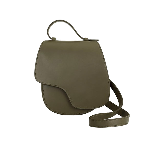 Carrara Leather Crossbody Bag