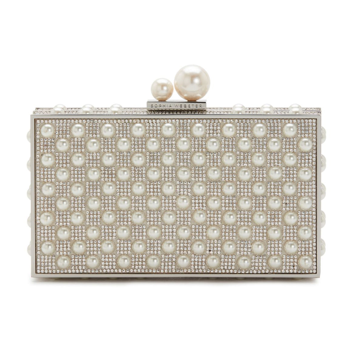 clara crystal box bag