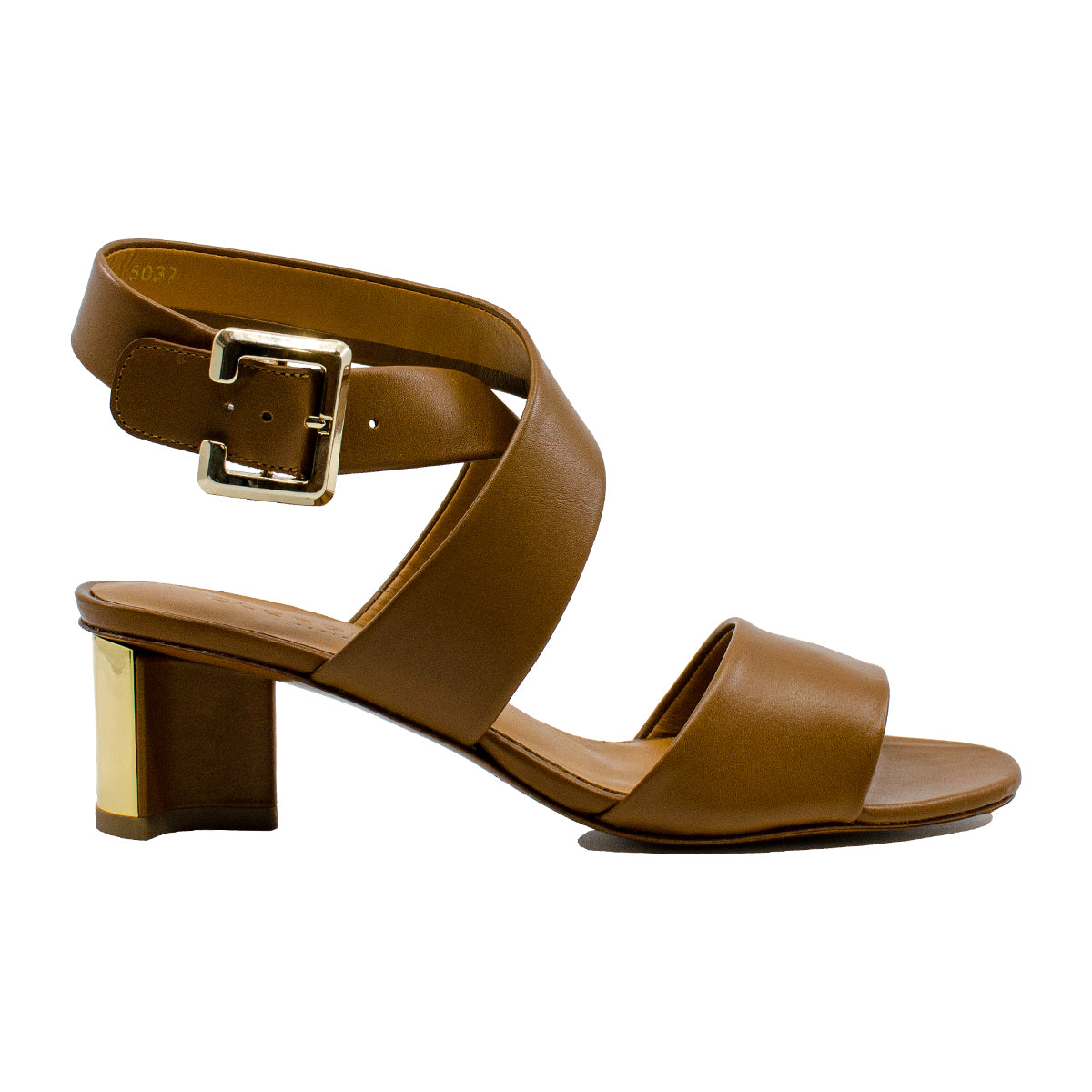 Agrume Mid Heel Strappy Sandals