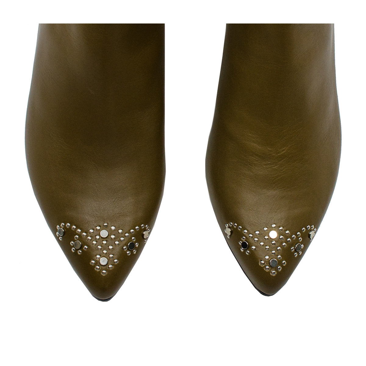 Alcazar studded leather boots