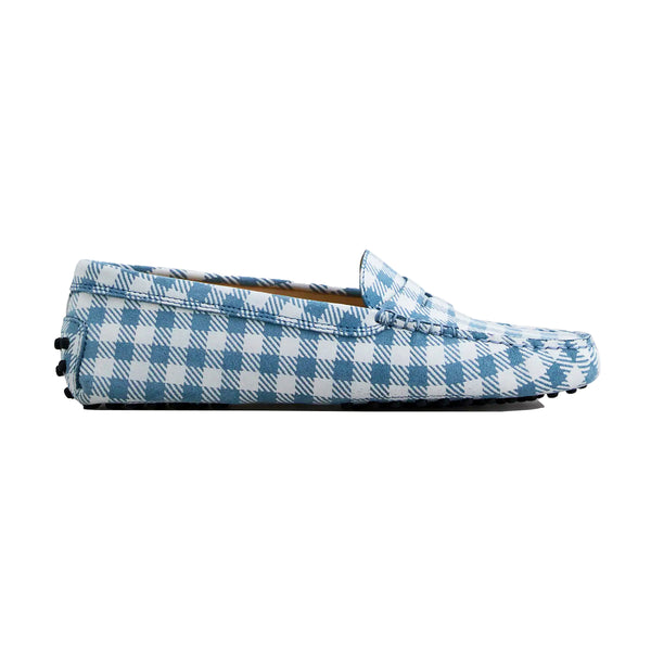 Gingham Gommini Loafers