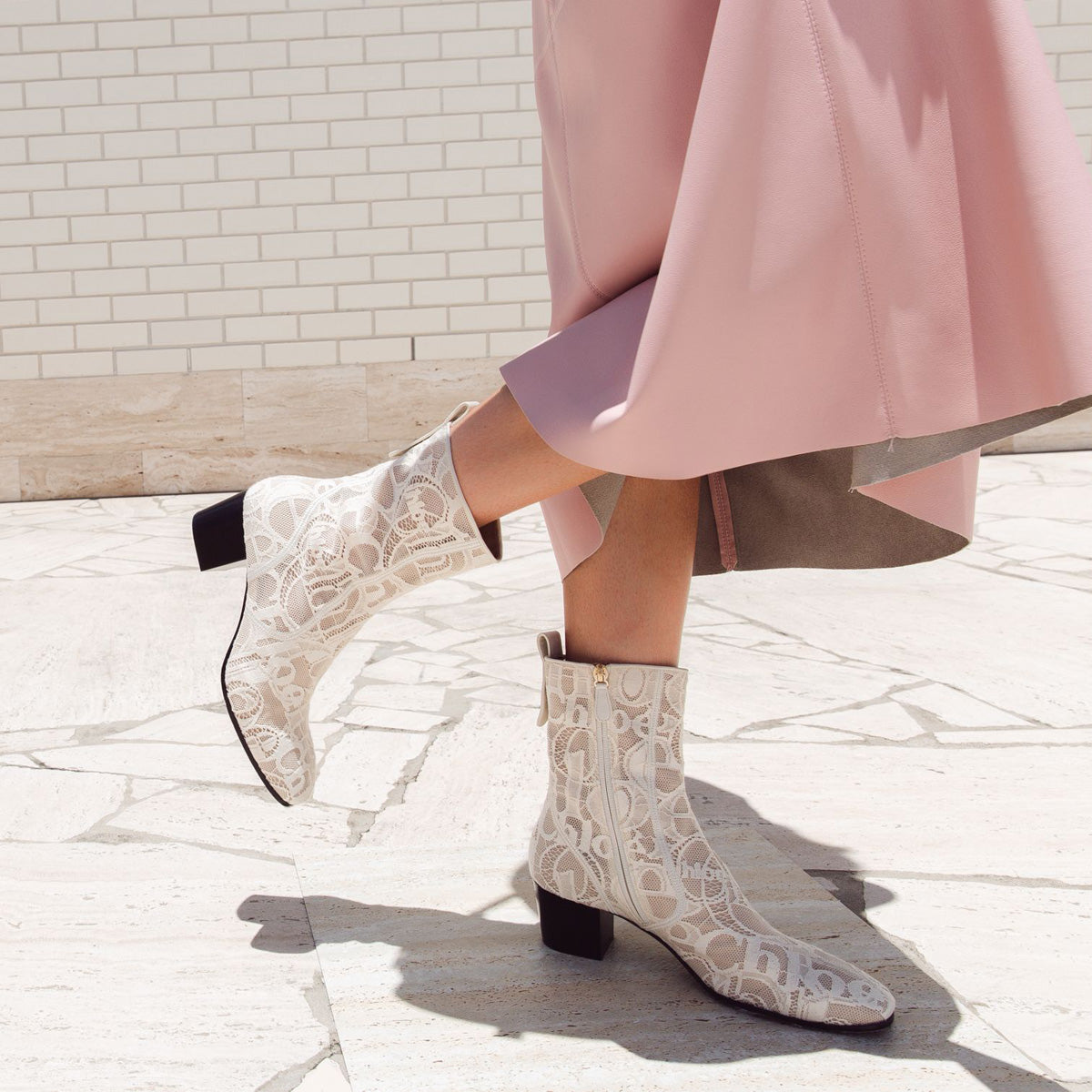 Goldee Lace Boots