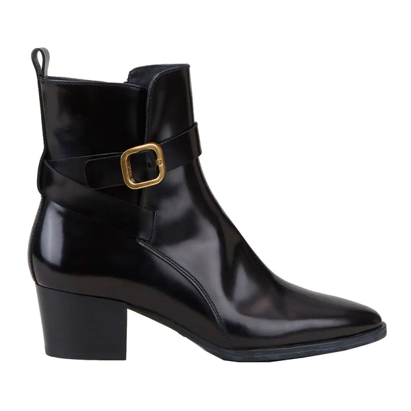 Block Heel Wrap Detail Boots