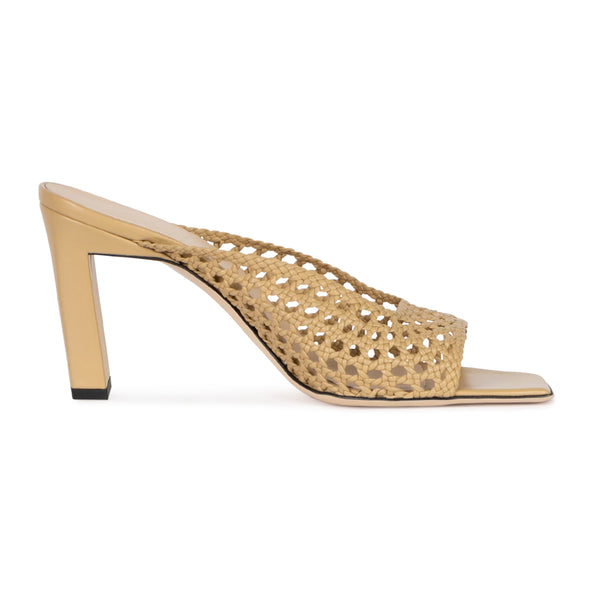 Isa Mesh High Heel Sandals