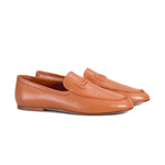 Double T Stitch Detail Loafers