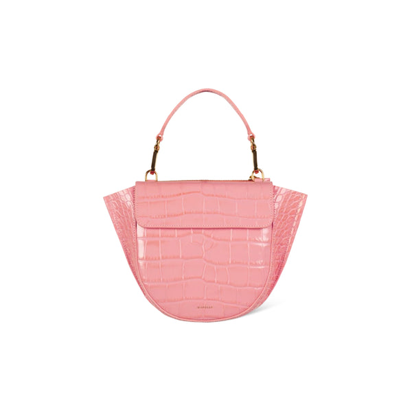 Hortensia Mini Leather Crossbody Bag