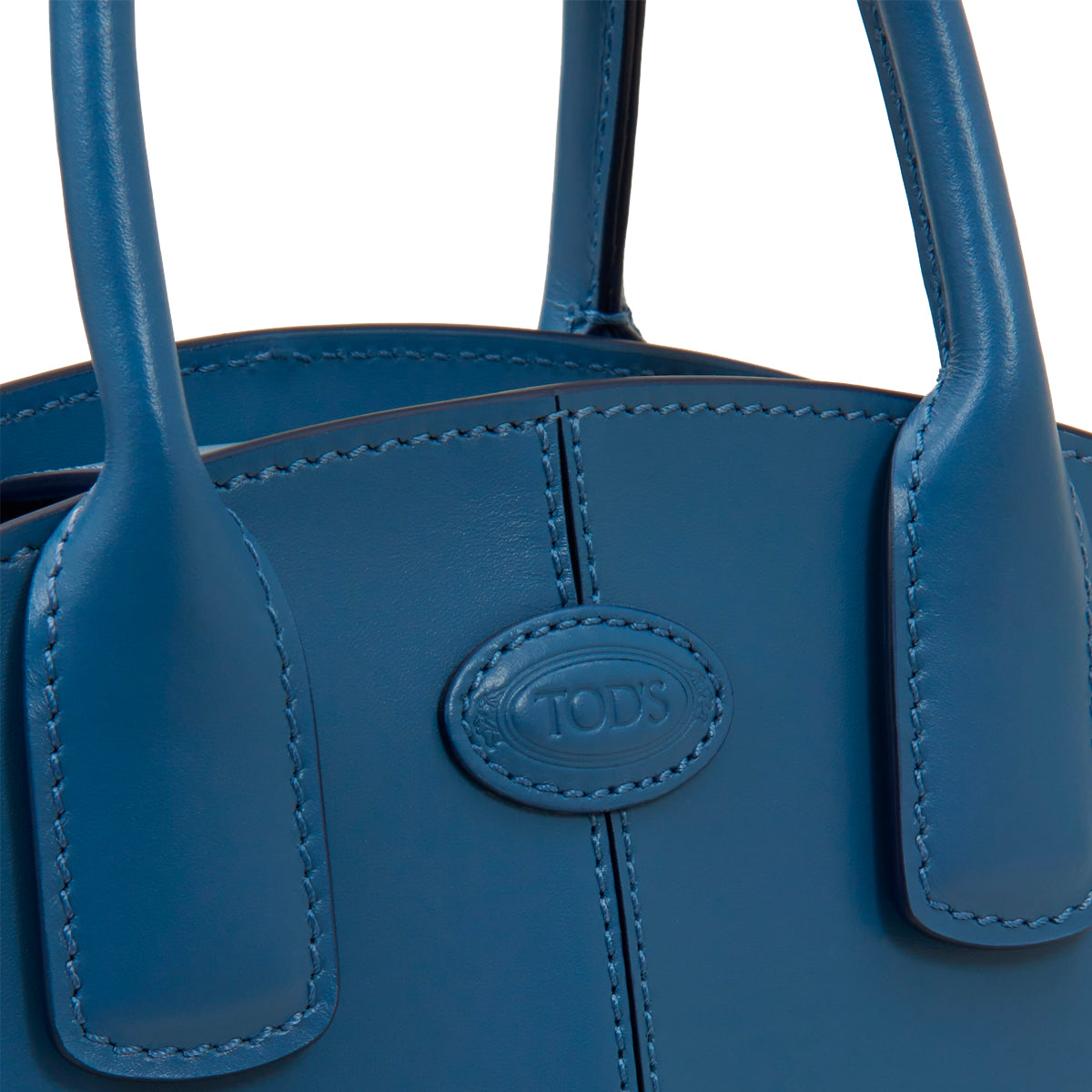 Micro Vaso Leather Shopper