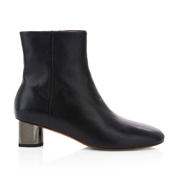 Paige Mid Heel Ankle Boots