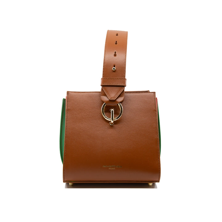 Plissé Box Bag