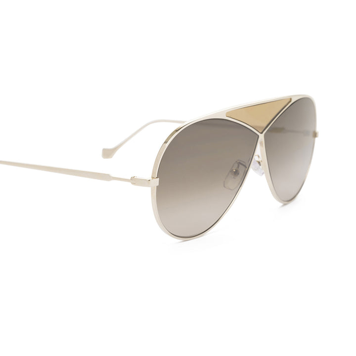 Puzzle medium aviator-style sunglasses