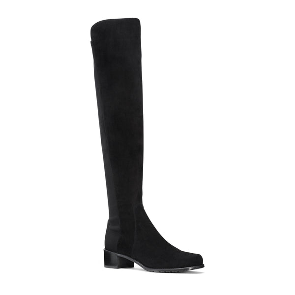 Reserve Stretch Suede Thigh High Boots