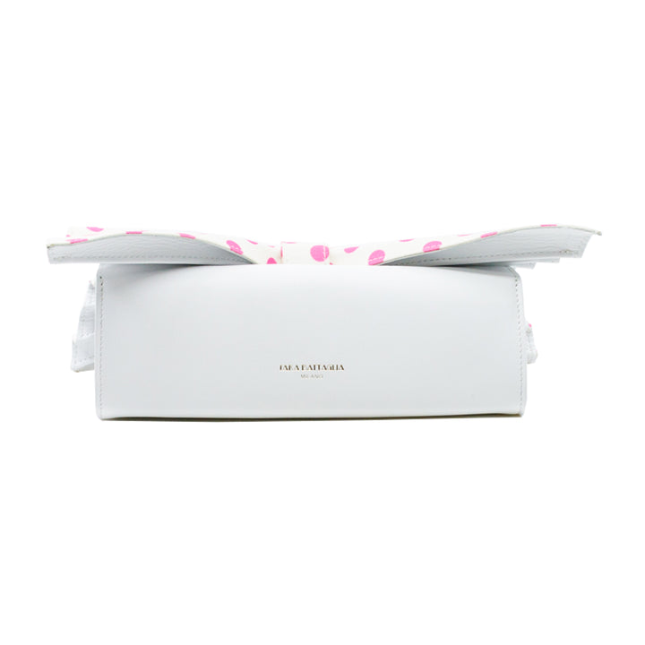 Roxanne Pois satin Clutch