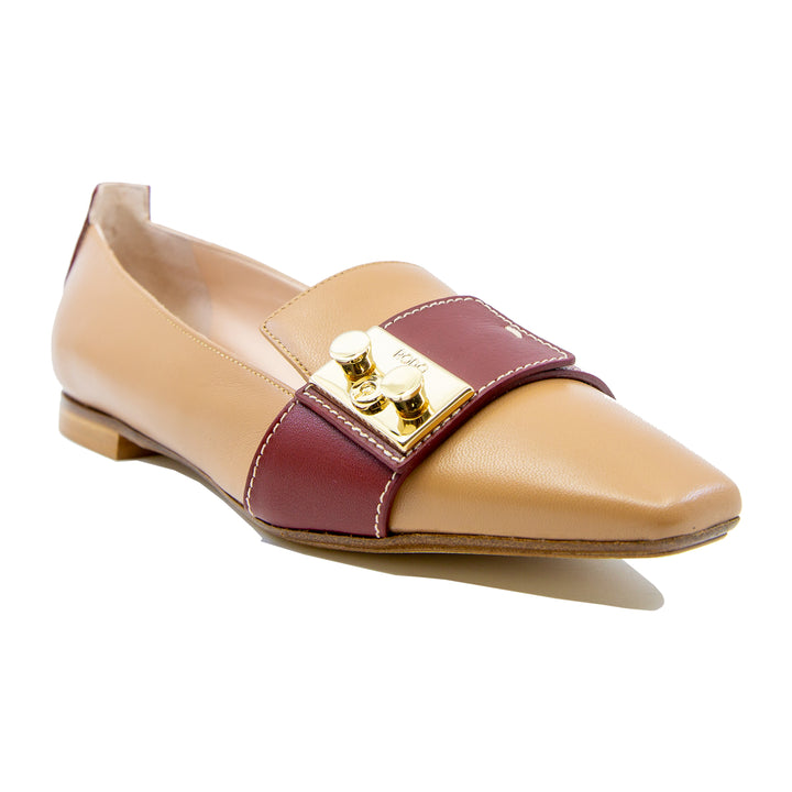 Two Tone Paris Loafers