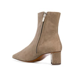 Secret Mid Heel Suede Ankle Boots