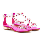 Dina Embellished Flat Sandals