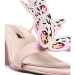 Riva 60 Butterfly Mid Heel Leather Sandals