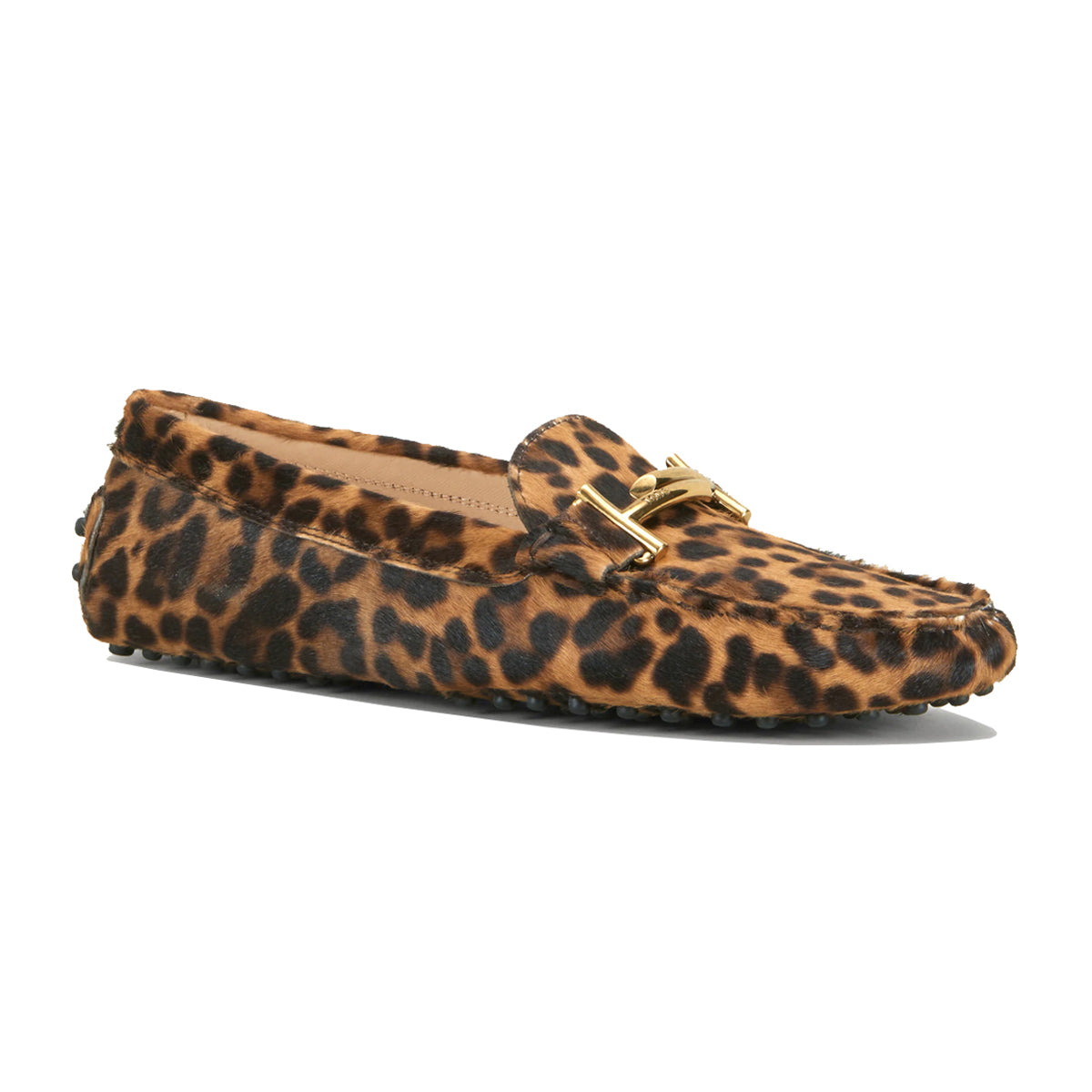 Ponyskin-Effect Double T Gommino Loafers
