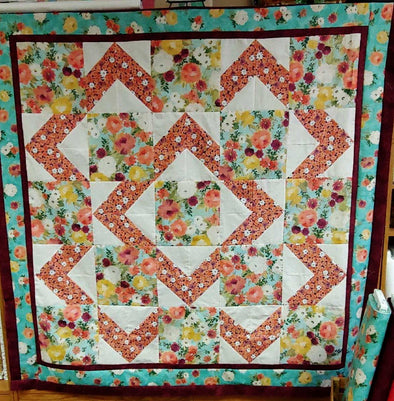 Walk About Quilt Pattern Easy