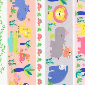 Timeless Treasure Welcome to the Jungle Cotton baby quilt fabric