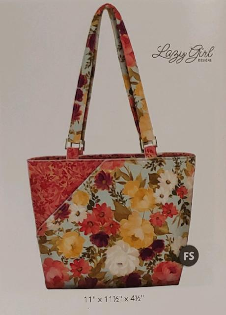 Lazy Girl Candice Bag Kit Lilian fabric