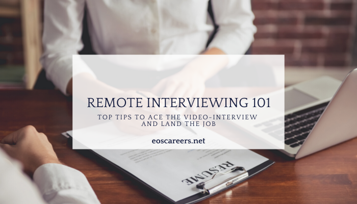 Remote Interviewing 101