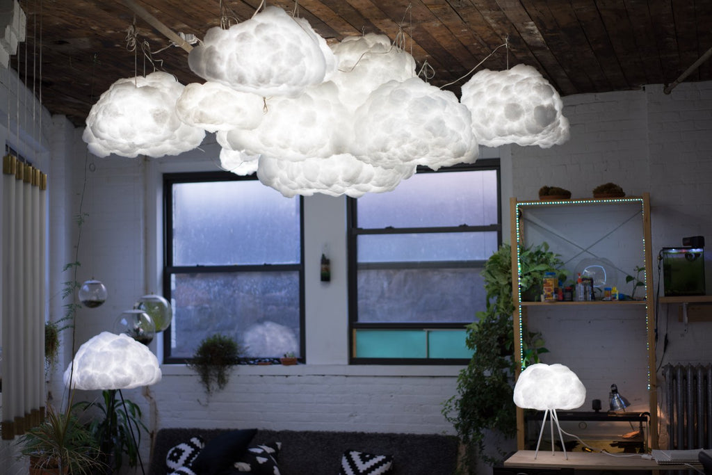 How to style a cluster of clouds