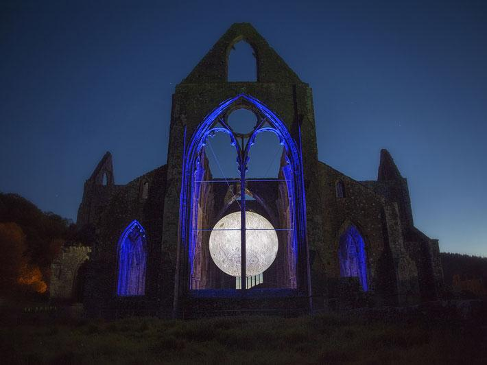 Museum of the Moon is a touring artwork by UK artist Luke Jerram