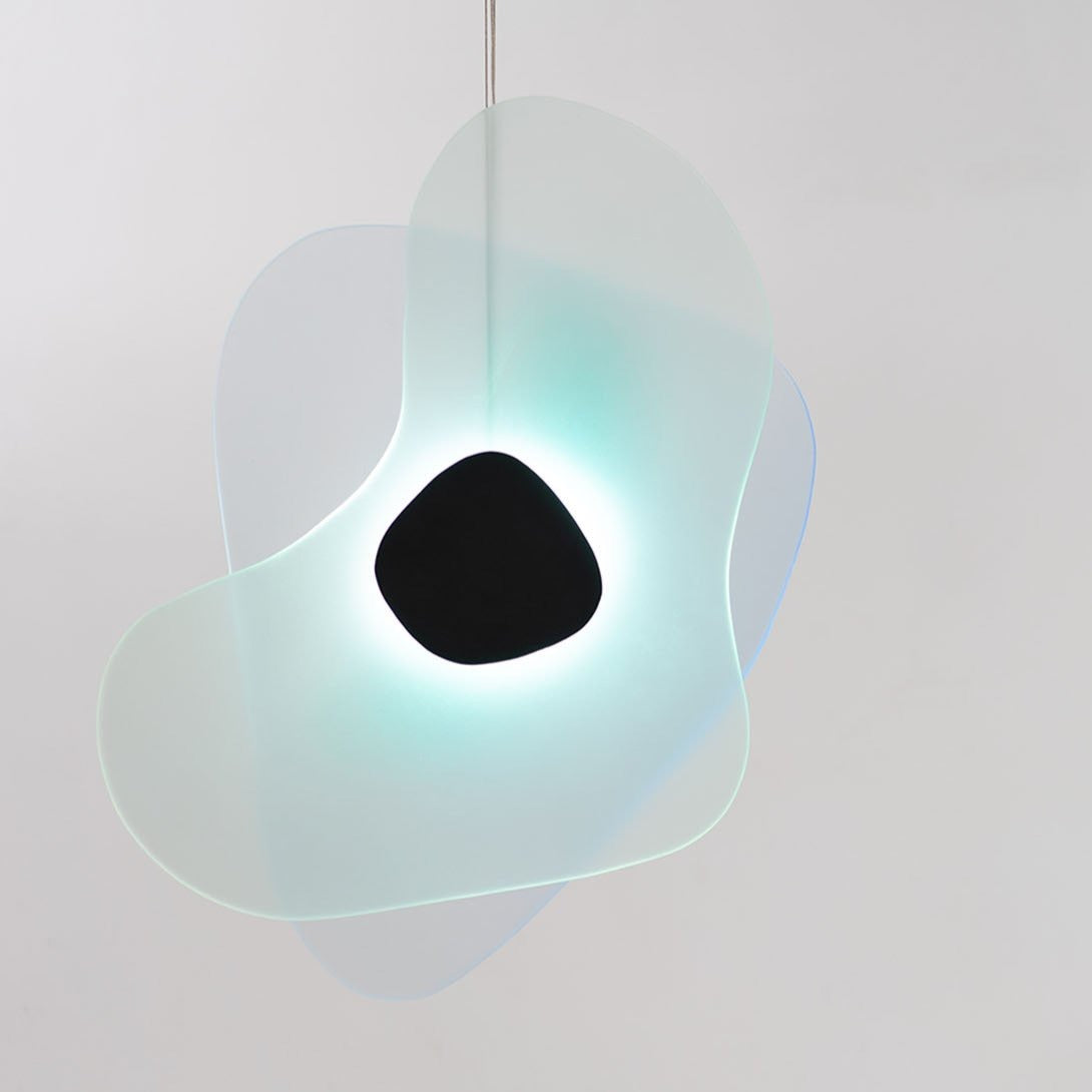 Richard Clarkson Studio Aurora Pendant - Dual Color Blue & Green