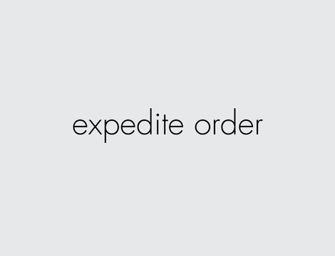 richard clarkson Expedite Order
