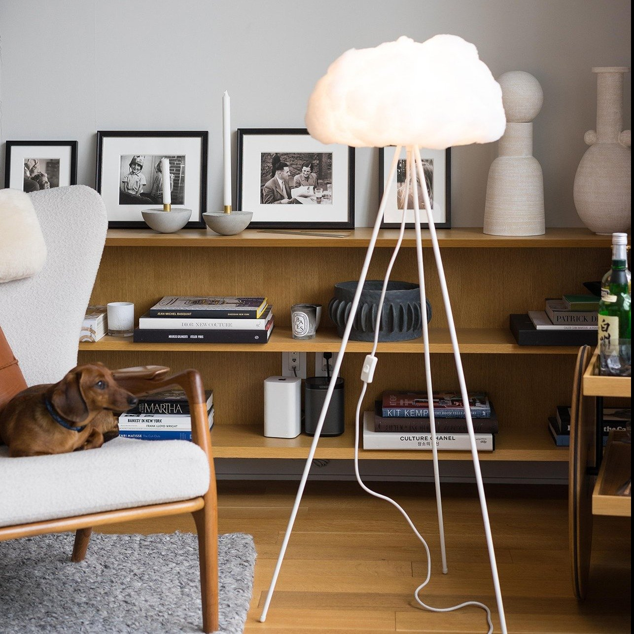 richard clarkson Lampshade Cloud - Floor Standing