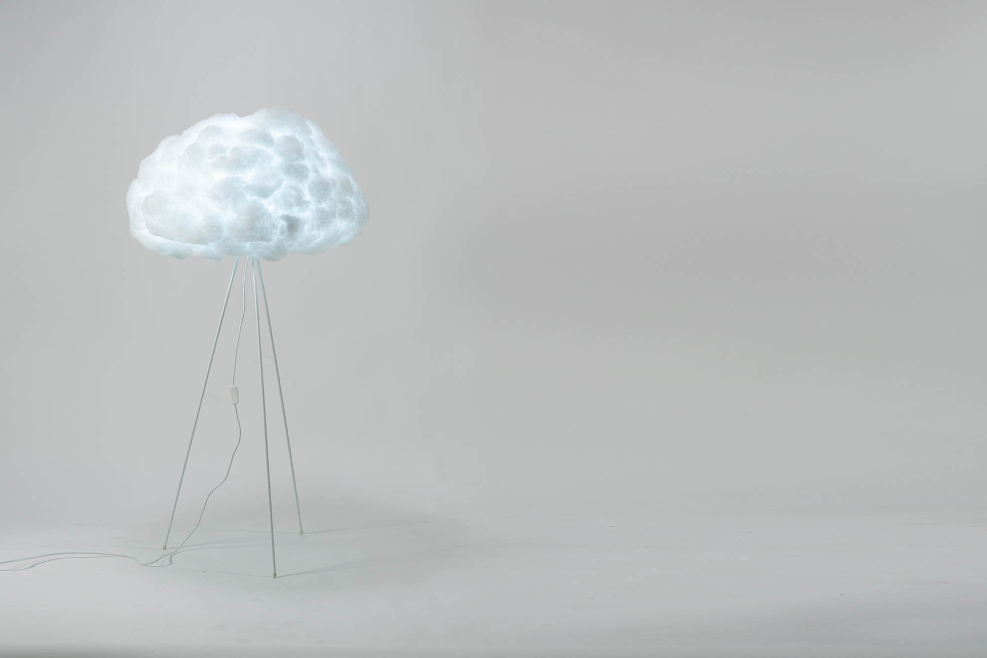 richard clarkson Lampshade Cloud - Floor Standing Large White