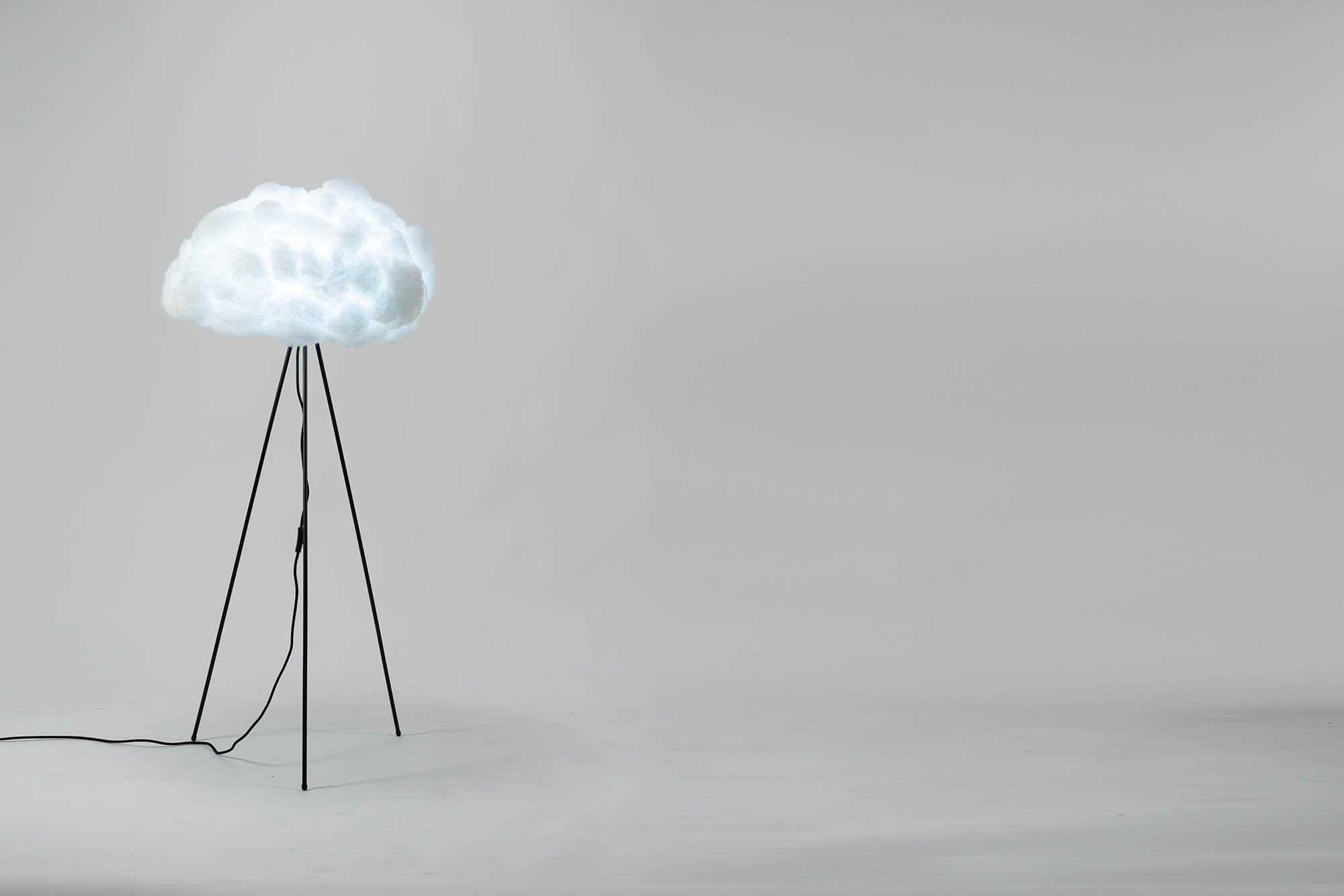 richard clarkson Lampshade Cloud - Floor Standing Medium Black