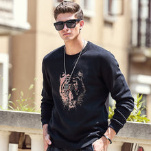Pioneer Camp thick fleece hoodies men Autumn Winter brand-clothing quality warm male tracksuits Casual tiger Sweatshirt 622181