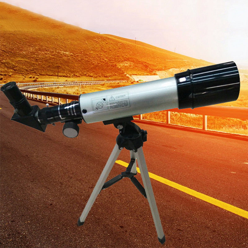 F36050M Portable Telescope Tripod Outdoor Astronomical Monocular Space