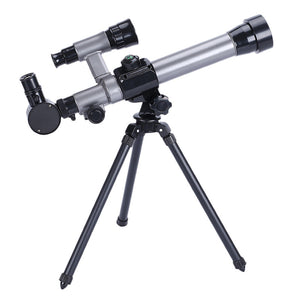 Outdoor Monocular Astronomical Telescope With Tripod Portable Toy Children