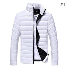 New Men's Winter Jacket Zipper Slim Outwear Coat Warm Outwear Men's Clothing