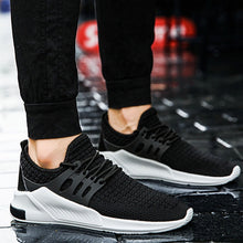 HEE GRAND New Spring Men Mesh Shoes Breathable Soft Sports Shoes Lace Up Solid Flats Man Casual Light Shoes For Outdoor XMR3041