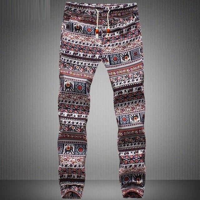 INCERUN Trend Aladdin Harem Pants Streetwear Hiphop Harajuku Hawaiian Men Women Trousers Joggers Pants Pantalon Sweatpants Big