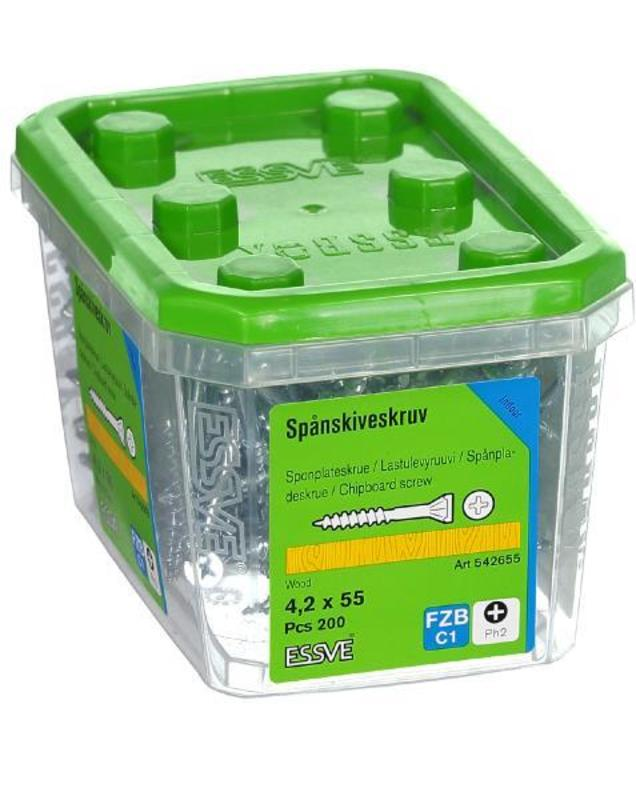 Essve Sponplateskrue (4,2x55mm/200st)