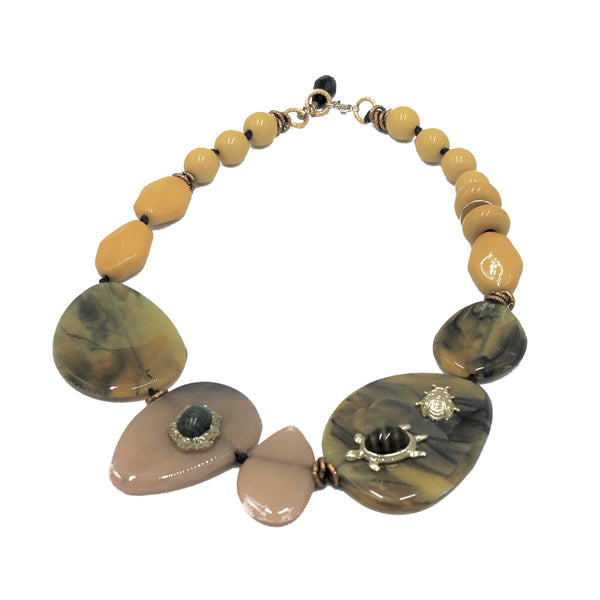COLLANA ACETATE ANIMAL